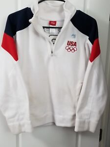 Girls 2012 Team USA Team Apparel Fleece Jacket Sz 14/Lg