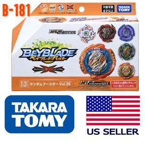 Takara Tomy B-181 Random Booster VOL. 25 Beyblade Burst DB Dynamite Battle