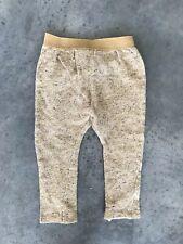 Zara Babygirl Baby Girl Toddler Yellow Stocking Base Layer Pants 18/24 Months