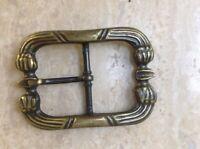 Vintage Open Frame Belt Buckle Leather Work Retro