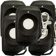 Elsema PentaFob FOB43301BLK Black Garage Door Remote Control 1 Button Keyring X3