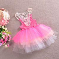 Baby Girls Dresses Vintage Lace Tulle Tutu Ballet Dress Size: 00,0,1,2,3,4,5,6