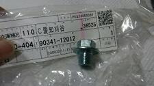 Genuine Lexus & Toyota Engine Sump Plug 90341-12012