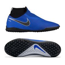detailed look 357ef dada3 Nike React Phantom Vision Pro DF TF Blue Black Mens Soccer Cleat Size  10