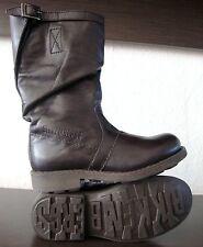 BIKKEMBERGS Vintage Stiefel Kinderstiefel Jungen Schuhe Boots Braun Gr.31 NEU