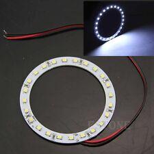 2x 12V 80mm Bright White 24 SMD LED Ring Angel Eyes Car Light