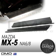 Mazda MX-5 Miata NA 89-98 OKAMI Aero Door Sill Plate Carbon Fiber
