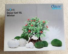 New listing Brand New BiOrb Decor Set BiOrb Winter Decor 15L Set New in Package