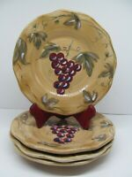 """Noble Excellence Meritage 8 1/2""""  Salad Plates Set Of 4 Plates"""
