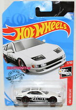 HOT WHEELS 2020 HW RESCUE NISSAN 300 POLICE WHITE W+