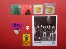 "IRON MAIDEN,8x10"" promo photo,6 Backstage passes,Guitar Pick,RARE old Originals,"
