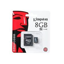 New Kingston Micro SD 8GB SDHC MicroSDHC Memory Card Mobile Phone Camera Class 4