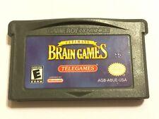 Ultimate Brain Games (Nintendo Game Boy Advance, 2003) GBA Used