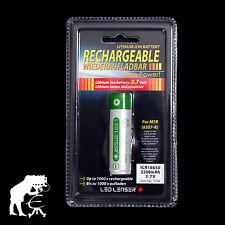LED Lenser ICR18650 Li - Ion Battery for M7R X7R M7RX F1R P7R 3,7V 2200mAh 7704