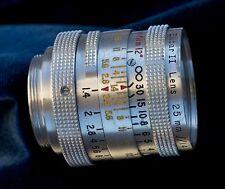 Kodak Cine Ektar II 25mm f1.4 C-mount lens