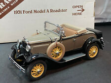 Danbury Mint 1931 Ford Model A Roadster Tan Color 1/24 Scale Diecast New
