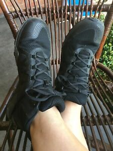 MERRELL- BLACK WALKING SNEAKERS- SIZE US 9 - RRP $270
