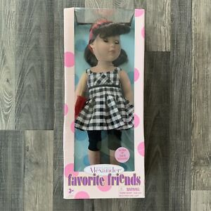 """NEW Madame Alexander Favorite Friends Party Perfect 18"""" Doll Collectible"""