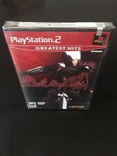 Devil May Cry PS2 Playstation 2 FACTORY SEALED GAME NEW