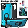 For Samsung Galaxy Note 10 Plus S9 S10 Hybrid Bumper Ring Holder Hard Case Cover