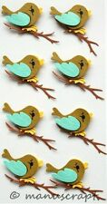 Artoz Artwork 3D-Sticker, Vogel auf Ast