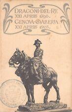 2640)  MILANO, DRAGONI DEL RE 1796 GENOVA CAVALLERIA 1903.