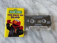 Sesame Street The Best Of Elmo CASSETTE Tape 1997 Sony Wonder LT 63397 RARE! OOP