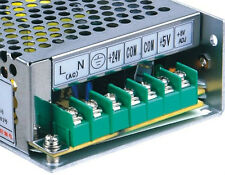 SMPS POWER SUPPLY FOR CCTV & LED LIGHTING - 24 VOLT  2 AMPS 50 WATTS (DC)