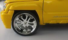 JADA 1/24 SCALE WHEELS FOR UPGRADING FITS CHEVY AVALANCHE STYLE #2011403