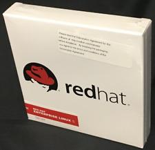 RED HAT ENTERPRISE SERVER LINUX VERSION 5 (BRAND NEW SEALED)