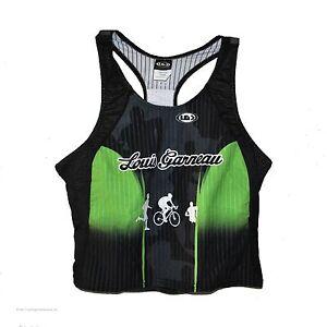 new Louis Garneau women's triathlon tri tank ESP Extra Stretch Performance