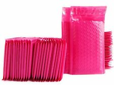 TriStore 4x8 Poly Bubble Mailer Pink Self Seal Padded Envelope 100 pcs