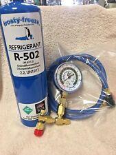 R502, 502, R-502, Recharge Kit, 28 oz, w/Check & Charge-It Gauge & Hose