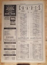 Music Charts NME 25/9/1976 singles albums Abba Dancing Queen Rod Stewart a night