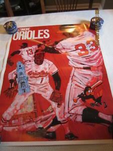 1971 Baltimore Orioles Poster