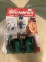Noma Ornamotion Christmas Ornament Rotating Turner Spinner Motor Pack Of 3 1989