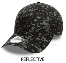 Chicago Bulls Baseball Cap NBA New Era Digi Camo Reflect 39Thirty Black Size M/L