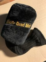 ALIEN GOLF, alien - quad metal Headcover golf club wood sock