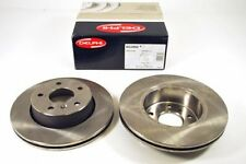 VAUXHALL ASTRA J ZAFIRA C FRONT VENTED BRAKE DISCS 300MM DELPHI PAIR NEW