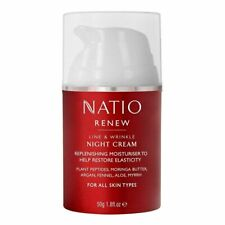 Natio Renew Line & Wrinkle Night Cream 50g All Skin Types