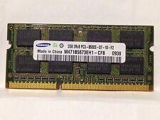 Samsung 2GB 2Rx8 PC3-8500S DDR3 1066MHz Laptop SDRAM M471B5673EH1-CF8