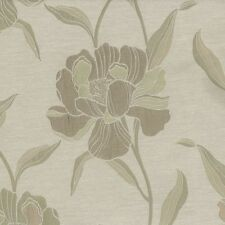 Nature Print Polyester Unlined Panel Window Curtains