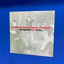 Alison Krauss & Union Station's Bluegrass Hot Picks | CD Promo 1997 6 Tracks OOP