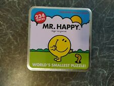 WORLDS SMALLEST PUZZLE 236 pieces MR HAPPY from the MR MEN SERIES