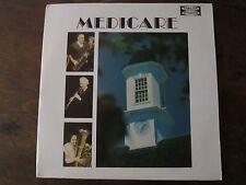 Medicare LP Jazz Record Custom Record Chicago Illinois Delta Records 2 LP's