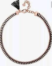 Mimco Victorious Rose Gold Choker Necklace Dust Bag