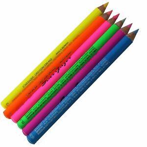 UV Eye Liner Pencil Fluorescent Neon Eyeliner Kohl Lip Black Light Stargargazer