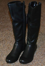 NEW ~ STYLE&CO. Women Fashion Black Boots / Size 5m Wide Calf / Low Heel