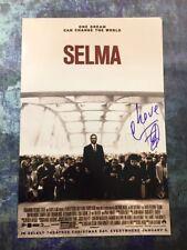 GFA Selma Movie Poster COMMON Signed Autographed 12x18 Photo AD1 COA