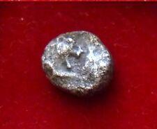 LYDIA. King Kroisos, Sardes. AR Mysihemihekte 1/24th stater, Lion bull 560 B.C.